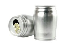Aluminum cans Royalty Free Stock Photo