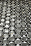 Aluminum Cans in factory warehouse Royalty Free Stock Images