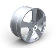 Free Aluminum Car Wheel Rim On White Royalty Free Stock Photos - 27573128