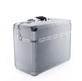 Aluminum case Royalty Free Stock Images