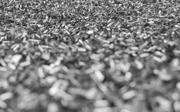 Aluminum chips texture 2 Stock Image