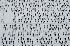 Aluminum cladding second skin of building Royalty Free Stock Photos