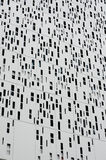 Aluminum cladding second skin Stock Images