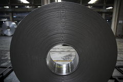 Aluminum coil Royalty Free Stock Photo