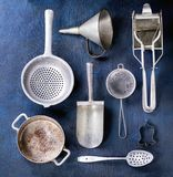 Aluminum cookware Royalty Free Stock Photography