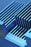 Aluminum cooling plate Stock Image