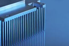Aluminum cooling plate Royalty Free Stock Image