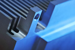 Aluminum cooling plate Royalty Free Stock Images