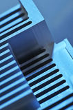 Aluminum cooling plate Stock Photography