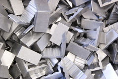 Aluminum corners Stock Images