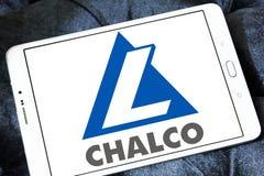 Aluminum Corporation of China Limited, Chalco logo. Logo of Chalco company on samsung tablet . Aluminum Corporation of China Limited, Chalco is chinese Royalty Free Stock Image