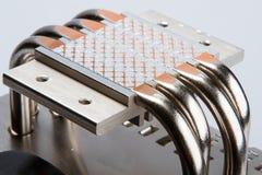 Aluminum cpu cooler Royalty Free Stock Photography