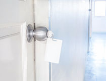 Aluminum dörrknopp Royaltyfria Bilder