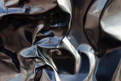 Aluminum dent Royalty Free Stock Photography