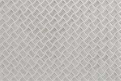 Aluminum diamondplate Royalty Free Stock Images