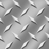 Aluminum Diamonds Background Stock Images