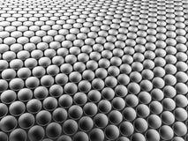 Aluminum discs construction wavy background. 3d illustration. Aluminum discs construction wavy background. 3d illustration Stock Photos