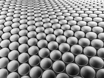 Aluminum discs construction wavy background. 3d illustration. Aluminum discs construction wavy background. 3d illustration Stock Images