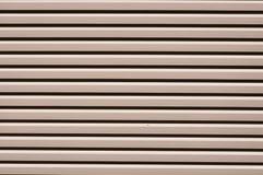 Aluminum door pattern texture Royalty Free Stock Images