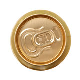 Aluminum drink can isolated Royalty Free Stock Photos