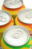 Aluminum drink cans Royalty Free Stock Image