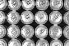 Aluminum drink cans, Stock Photo