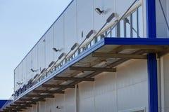 Aluminum facade Royalty Free Stock Photos