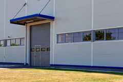 Aluminum facade Royalty Free Stock Image