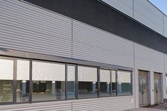 Aluminum facade Stock Photo