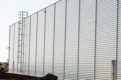 Aluminum facade Stock Image