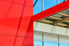 Aluminum facade Royalty Free Stock Images