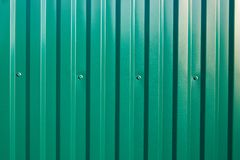 Free Aluminum Fence. Galvanized Steel Wall Plate. Royalty Free Stock Photos - 149103878