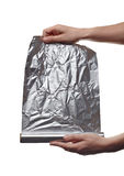 Aluminum foil Royalty Free Stock Photos