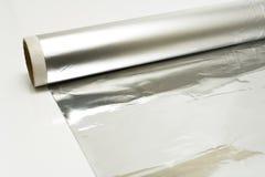Aluminum foil Stock Images