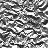 Aluminum foil background Stock Photo