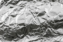 Aluminum foil background Royalty Free Stock Photography