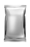 Aluminum foil bag plain Stock Images