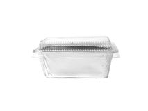 Aluminum foil container Stock Photo