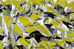 Aluminum foil Royalty Free Stock Image