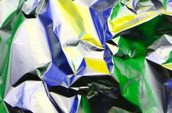Aluminum foil Royalty Free Stock Images