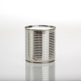 Aluminum food can Stock Photo