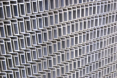Aluminum frames. A pile of aluminum frames Stock Images