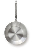 Aluminum frying pan Royalty Free Stock Photos