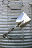 Aluminum grain shovel Stock Photo