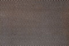 Aluminum grating texture background royalty free stock photos