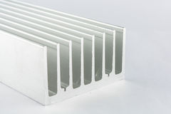 Aluminum heat sink Royalty Free Stock Image