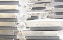 Aluminum Inguts Arkivfoto