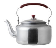 Aluminum kettle Stock Image