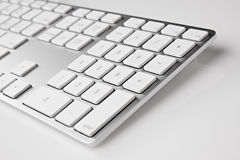 Aluminum keyboard Royalty Free Stock Photos