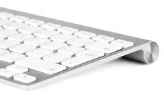 Aluminum keyboard Royalty Free Stock Photos